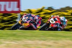 Чемпионат Superbike мира 017 FIM MOTUL стоковые изображения rf