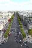 Чемпионы Elysee, Париж стоковые изображения