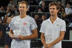 Чемпионы Lukasz Kubot (ПОЛИТИК) и Edouard Роджер-Vasselin (FRA) Стоковая Фотография