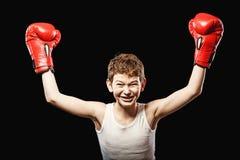 чемпион бокса малый Стоковое фото RF