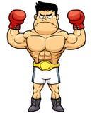 Чемпион бокса иллюстрация вектора