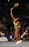 Чемпион Винус Уильямс грэнд слэм Соединенных Штатов в действии во время события тенниса годовщины решающего сражения BNP Paribas  Стоковое фото RF