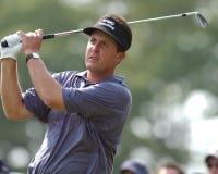 Чемпион Phil Mickelson путешествия PGA стоковое изображение rf
