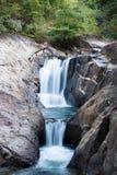 Чем водопад Mayom стоковые изображения rf