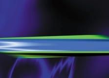 через голубые круги позеленейте пурпуровый слеш Стоковые Фото