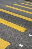 через дорогу Стоковое Изображение RF