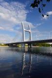 Через мост реки Li Стоковое Изображение