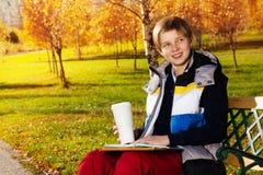 Через некоторое свободное время после школы Стоковые Фотографии RF