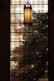 Через окно Стоковые Изображения RF