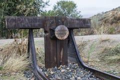 Через покинутый поезд Стоковые Фото