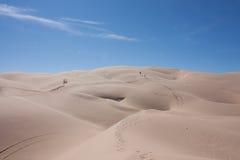 через пустыню treking Стоковая Фотография RF
