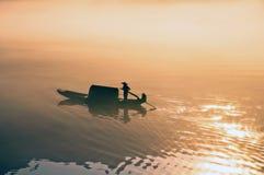 Через солнечность в воде Стоковое Фото