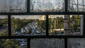 Через стекло стоковое фото rf
