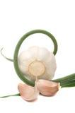 черенок головки чеснока cloves Стоковая Фотография RF