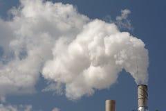 черенок дыма Стоковая Фотография RF