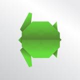 Черепаха Origami Стоковая Фотография RF
