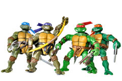Черепахи Ninja стоковая фотография rf