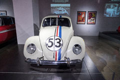 Черепашка влюбленности Volkswagen Beetle 1963 Herbie стоковые изображения