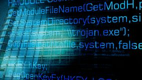 Черепашка компьютера троянская и будущие кибер атаки иллюстрация вектора