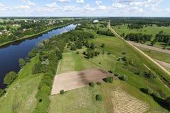 Черепашка реки фото воздуха Стоковые Фотографии RF