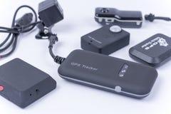 Черепашки шпионки и спрятанная камера изолированные над белизной стоковые изображения rf