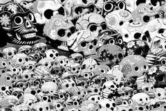 черепа дня мертвые Стоковая Фотография RF