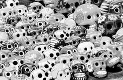 черепа дня мертвые Стоковое Изображение RF