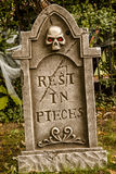 Черепа и украшения хеллоуина Стоковая Фотография RF