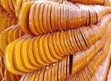 Черепицы виска - Таиланд Стоковая Фотография RF