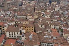 Черепицы Флоренса в Тоскане Стоковое Фото