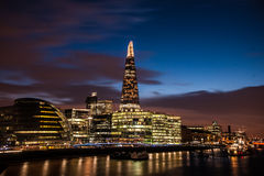 Черепок, здание муниципалитет Лондона и Co Стоковое фото RF