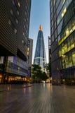 Черепок снял от современного переулка в Лондоне Стоковое Фото