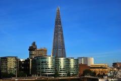 Черепок стеклянной башни в Лондоне Стоковые Изображения