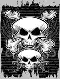 Череп и кости Стоковое Фото