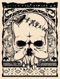 Родной череп Стоковые Изображения