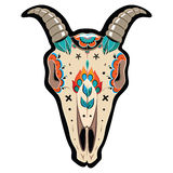 Череп козы Стоковые Изображения RF