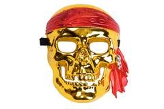череп пирата маски Стоковые Фотографии RF