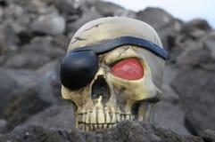 Череп пирата Стоковое Фото