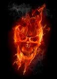 череп пожара Стоковая Фотография RF