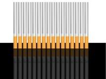 череп тени сигарет бесплатная иллюстрация