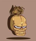 Череп хеллоуин Стоковая Фотография