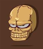 Череп хеллоуин Стоковое Фото