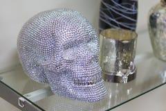 Череп человека жемчуга Стоковое фото RF