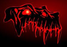 череп демона Стоковое фото RF