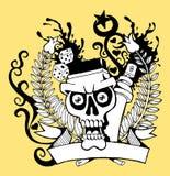 череп 01 Стоковые Изображения