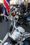 череп bike Стоковые Изображения