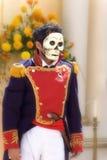 череп costume Стоковые Фото