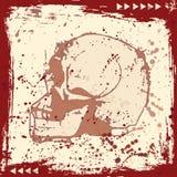 череп grunge бесплатная иллюстрация