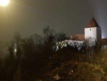 черная башня Стоковая Фотография