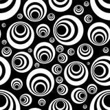 черная безшовная белизна Стоковая Фотография RF